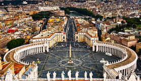 St. Peters Square Stock Photos