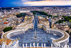 St. Peters Square Stock Photo