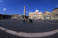 St.Peters Square.Vatican. Photographie stock libre de droits
