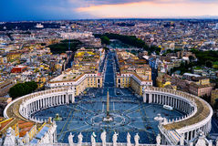 St. Peters Square Royalty Free Stock Photo