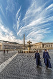 St. Peters Square, Vatican City Stock Photography