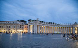 St. Peters Square, Vatican, Europe Royalty Free Stock Photography