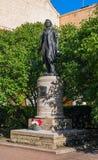 St Petersbourg, Russie - 30 juillet 2017 : Monument à A S Pushkin dans la cour du maison-musée sur Photographie stock