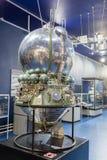 St Petersbourg, Russie - 13 mai 2017 : Musée d'espace russe de St Petersbourg de moteur-fusées Image stock