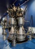 St Petersbourg, Russie - 13 mai 2017 : Musée d'espace russe de St Petersbourg de moteur-fusées Photos libres de droits
