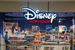 St Petersbourg, Russie - 7 septembre 2018 : Jouets de Disney au centre commercial photos libres de droits