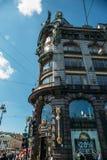 St Petersbourg, Russie - vers en juin 2017 : Le chanteur House sur Nevsky Prospekt à St Petersburg Photos libres de droits