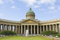 St. Petersbrug, Kazansky katedra Obraz Stock