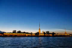 St Petersburg, île de Vasilyevskiy Photo stock