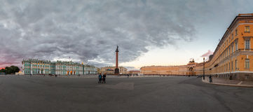 st petersburg дворца квадратный Стоковые Фото