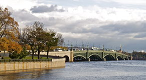 st petersburg моста Стоковое Фото