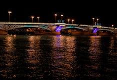 st petersburg ночи города моста Стоковые Фото