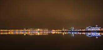 st petersburg ночи Стоковое Фото