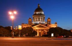 st petersburg России собора isaaakievsky Стоковая Фотография RF