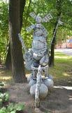 ST petersburg Россия Современная скульптура в саде Izmaylovsky Стоковое Изображение