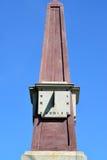 ST petersburg Россия Солнечные часы на основном этапе работ против неба Стоковое фото RF