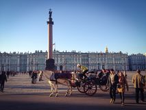St Petersburg Arkivfoton
