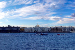 St Petersburg Royaltyfria Foton