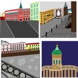 St Petersburg stock de ilustración