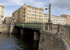 St. Petersburg, Alarchin bridge Stock Photos