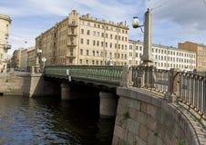 St. Petersburg, Alarchin bridge Stock Photos