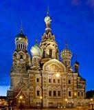 St Petersburg alla notte 1 Fotografia Stock Libera da Diritti