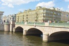 St. Petersburg, Anichkov bridge Royalty Free Stock Image