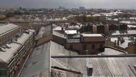 St Petersburg Ansicht der Stadt vom Spitzenpunkt Russland Lizenzfreies Stockbild