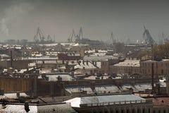St Petersburg Ansicht der Stadt vom Spitzenpunkt Russland Stockfoto
