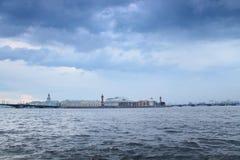 St Petersburg, après la tempête Photo libre de droits
