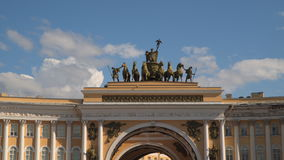 St. Petersburg. Arch of the General staff stock video