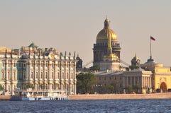 St. Petersburg architectuur Stock Afbeelding