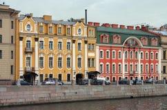 St Petersburg, argine di Fontanka Immagine Stock Libera da Diritti