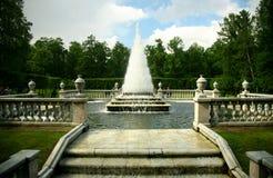 St.Petersburg. Beautiful classical garden Royalty Free Stock Photos