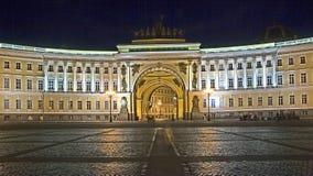 St. Petersburg bij nacht 2 Stock Afbeelding