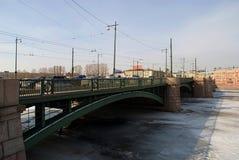 St Petersburg. Brücke. Lizenzfreies Stockfoto