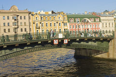 St. Petersburg, bridge Stock Photo