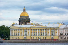St. Petersburg, the building of the constitutional court Stock Photos