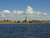 St. Petersburg, castle of St. Peter and Pavel Royalty Free Stock Image
