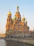 St Petersburg. Cathédrale du sauveur sur le sang Images libres de droits