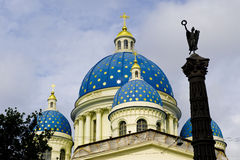 St Petersburg cathedral Royalty Free Stock Images
