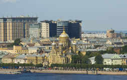 St. Petersburg, cathedral of Assumption of St. Mary Royalty Free Stock Photos