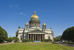 St. Petersburg, cathedral of St. Isaak Royalty Free Stock Photo
