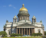 St. Petersburg, cathedral of St. Isaak Stock Photos