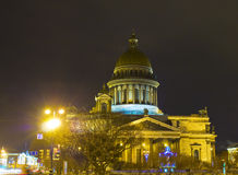 St. Petersburg, cathedral of St. Isaak Royalty Free Stock Images