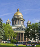 St. Petersburg, cathedral of St. Isaak (Isaakievskiy) Royalty Free Stock Images