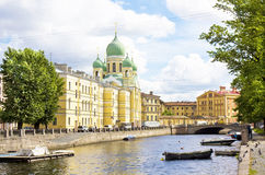St. Petersburg, cathedral of St. Isidor Stock Image