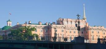 St Petersburg Château de Mikhailovsky Photos libres de droits