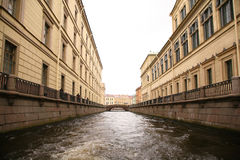 St.Petersburg channel Stock Photography