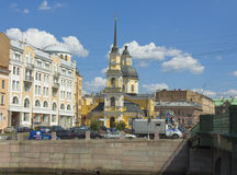 St. Petersburg, church of Anna and Simenon Royalty Free Stock Photos